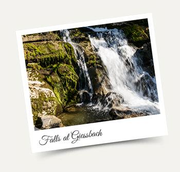 Giessbach Falls - Wengen excursion