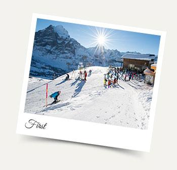 Skiing at First Grindelwald - Jungfrau Region