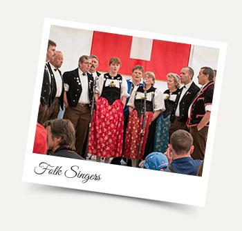 Folklore Abende Wengen
