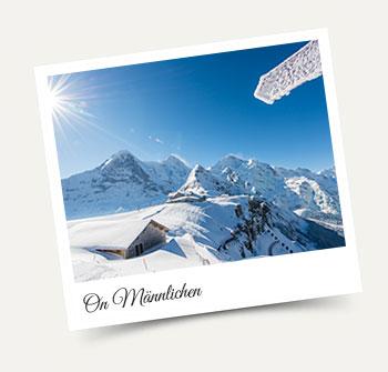 Winter on Männlichen - stay in our Wengen apartments