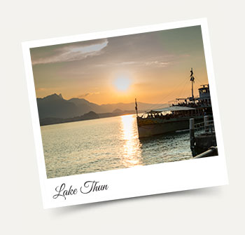 Take a Wengen excursion to Lake Thun with Alpine Holiday Services
