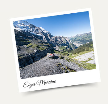 Hiking from Wengen to the Eiger Moraine in the Jungfrau Region!