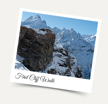 Cliff Walk at First Grindelwald