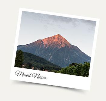 Mount Niesen on Lake Thun - Wengen excursion