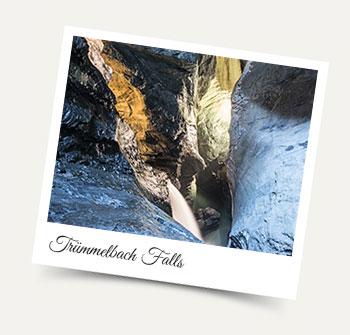 Visit the spectacular Waterfalls in Lauterbrunnen - the Trummelbach Falls!