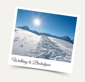 Walking to Bachalpsee in the Jungfrau Region - Winter activities